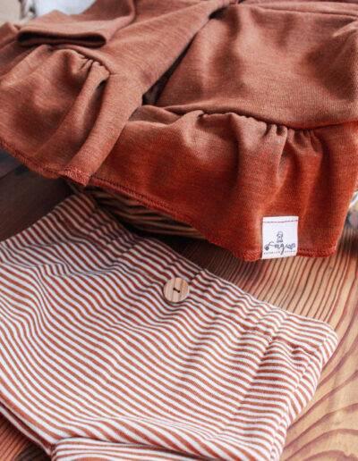 Bummie Shorts Merinowolle Wolle/Seide Wollbündchenstoff Natürlich goldig