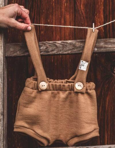 Bummie Shorts Wolle/Seide Merinowolle Natürlich goldig