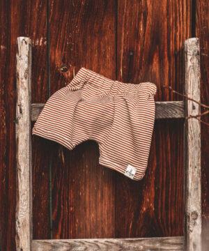 Shorts für Jungs Merinowolle Wolle/Seide Natürlich goldig